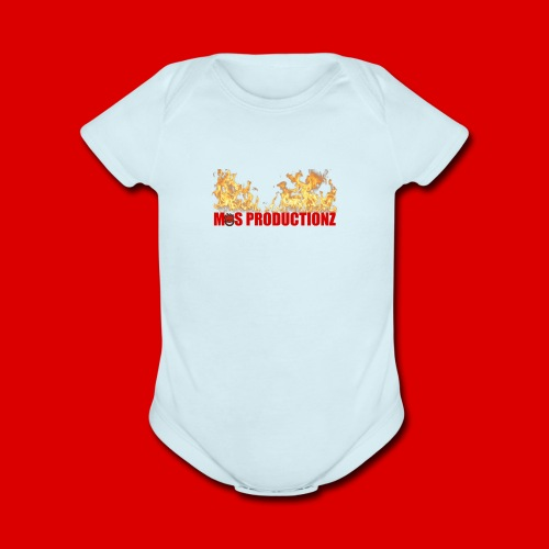 Official M.O.S Hoodie - Organic Short Sleeve Baby Bodysuit
