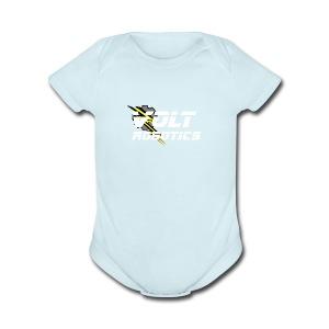 VOLT Robotics White Logo - Short Sleeve Baby Bodysuit