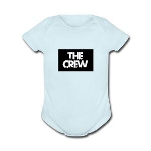 the crew logo - Short Sleeve Baby Bodysuit