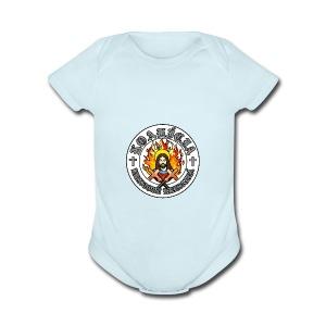 Kristove Kresadlá - Short Sleeve Baby Bodysuit