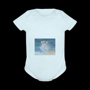 Goddess Maker Azaleas Dolls - Short Sleeve Baby Bodysuit