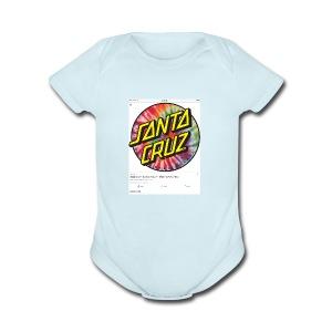 IMG 0102 - Short Sleeve Baby Bodysuit