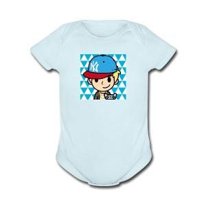 FaceQ1498685113923 1 - Short Sleeve Baby Bodysuit