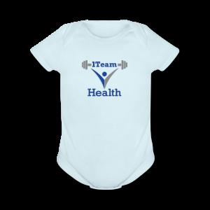 1TeamHealth Member - Short Sleeve Baby Bodysuit