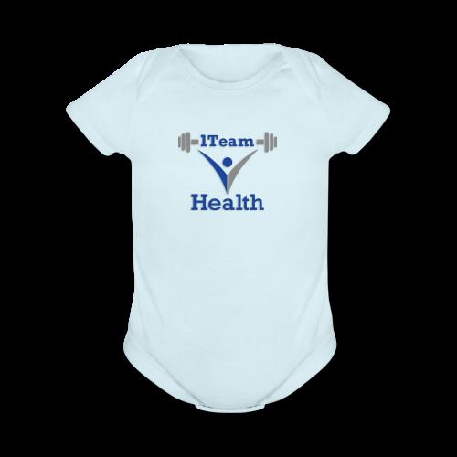 1TeamHealth Member - Organic Short Sleeve Baby Bodysuit