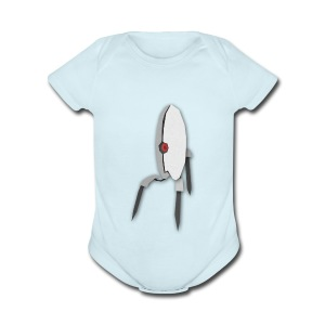 Portal 2 Turret - Short Sleeve Baby Bodysuit