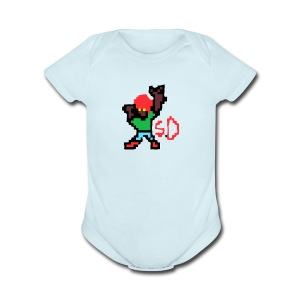 StevenDoes - Short Sleeve Baby Bodysuit