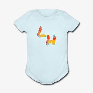Los Hermanos Logo - Short Sleeve Baby Bodysuit