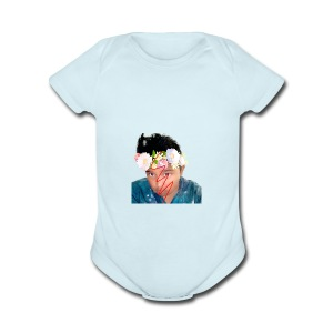 Kyle merch - Short Sleeve Baby Bodysuit