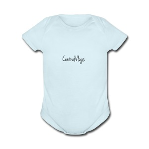 Central Vlogs Merchandies - Short Sleeve Baby Bodysuit