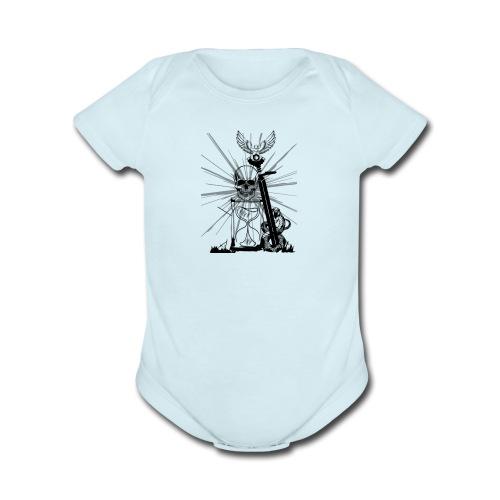sandsnake - Organic Short Sleeve Baby Bodysuit