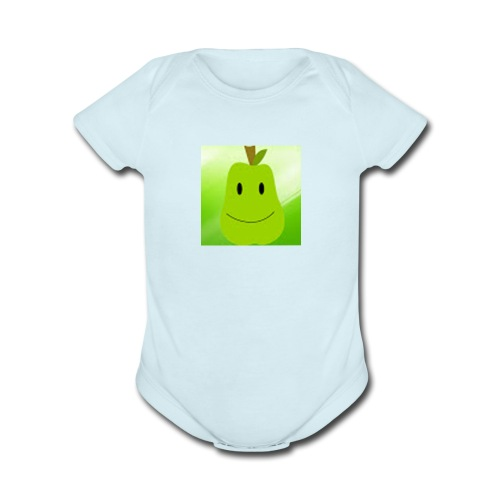 Untitled 2 - Organic Short Sleeve Baby Bodysuit