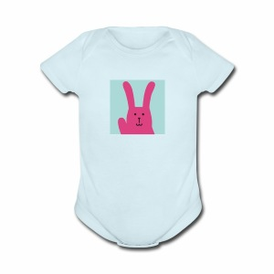 Craftholic Rabbit - Short Sleeve Baby Bodysuit