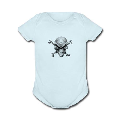 Ghost Rider - Organic Short Sleeve Baby Bodysuit
