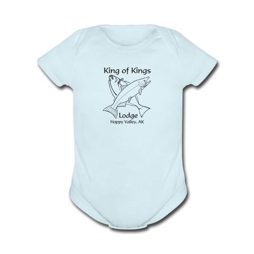 King of Kings - Organic Short Sleeve Baby Bodysuit