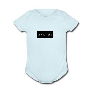 Anchor brand t-shirt - Short Sleeve Baby Bodysuit
