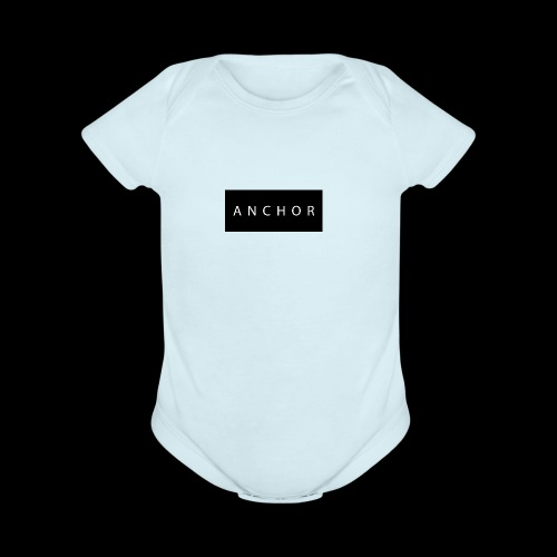 Anchor brand t-shirt - Organic Short Sleeve Baby Bodysuit