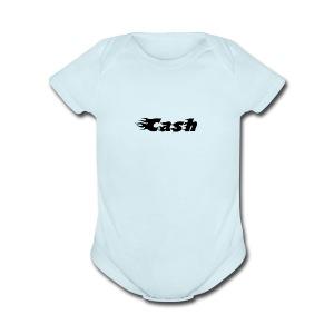SLD08 Cash FC Dark all Store - Short Sleeve Baby Bodysuit