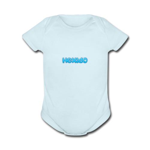 hex case - Organic Short Sleeve Baby Bodysuit
