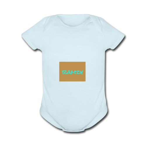 rmh boss 1 is very important because were the best - Organic Short Sleeve Baby Bodysuit