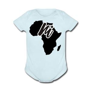 monibra.africacollection - Short Sleeve Baby Bodysuit