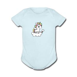IMG 3930 - Short Sleeve Baby Bodysuit