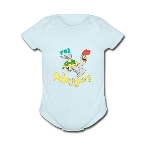 The Nuggets - Organic Short Sleeve Baby Bodysuit