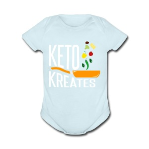 Keto Kreates - Short Sleeve Baby Bodysuit
