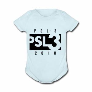 PSL 3 LIMITED EDITION DESIGN - Short Sleeve Baby Bodysuit