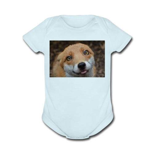 merch picture - Organic Short Sleeve Baby Bodysuit