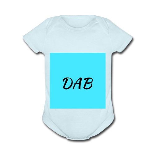 Ocean DAB - Organic Short Sleeve Baby Bodysuit