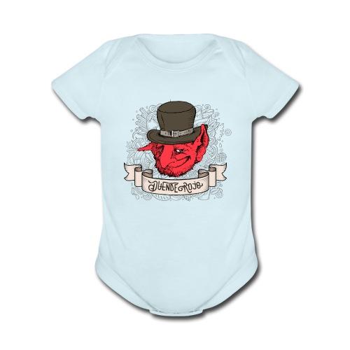 Duende Rojo - Organic Short Sleeve Baby Bodysuit