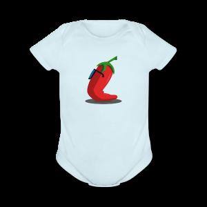 Chile - Short Sleeve Baby Bodysuit