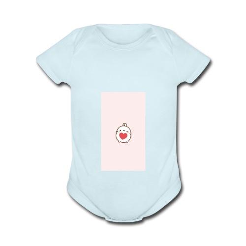 kurpuff - Organic Short Sleeve Baby Bodysuit