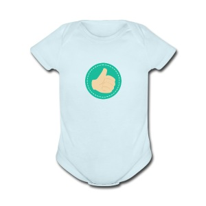 Thumb Up - Short Sleeve Baby Bodysuit