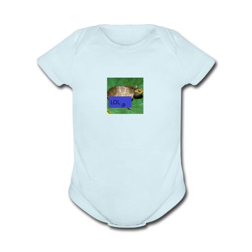 TakeTheLose's Merch - Organic Short Sleeve Baby Bodysuit