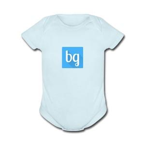 bg - Short Sleeve Baby Bodysuit