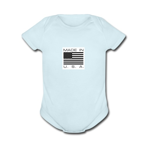 This is who I am - Organic Short Sleeve Baby Bodysuit