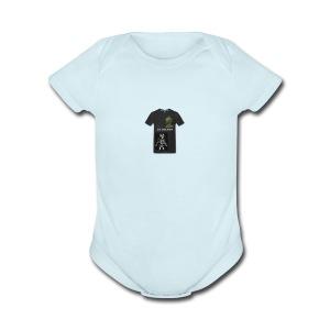 St.trench - Short Sleeve Baby Bodysuit