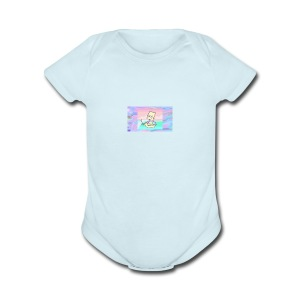 way v - Short Sleeve Baby Bodysuit