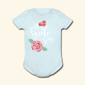 Snow White - Short Sleeve Baby Bodysuit