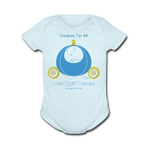 Cosplay For All: Cinderella - Short Sleeve Baby Bodysuit
