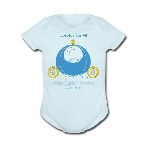 Cosplay For All: Cinderella - Organic Short Sleeve Baby Bodysuit