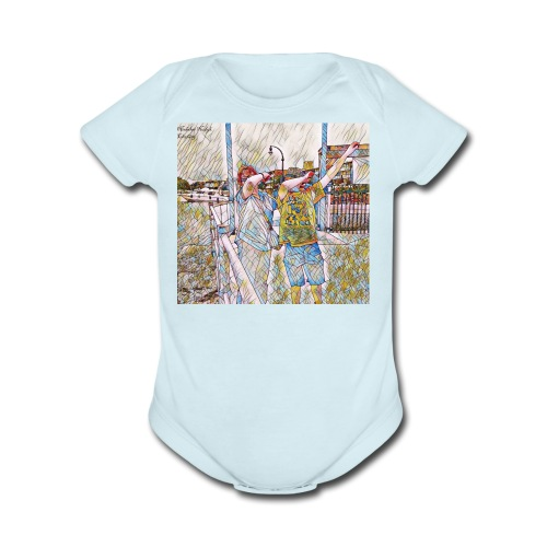 Do The Dab x2 - Organic Short Sleeve Baby Bodysuit