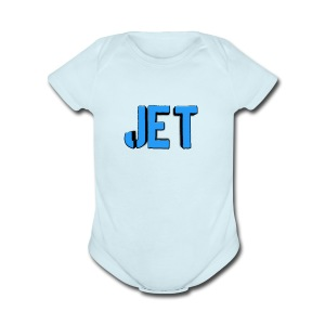 Jet merch - Short Sleeve Baby Bodysuit
