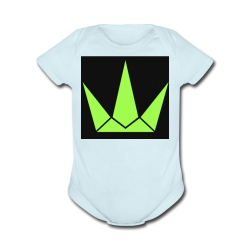 King Janz - Organic Short Sleeve Baby Bodysuit