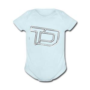 Team Discords Logo - Short Sleeve Baby Bodysuit
