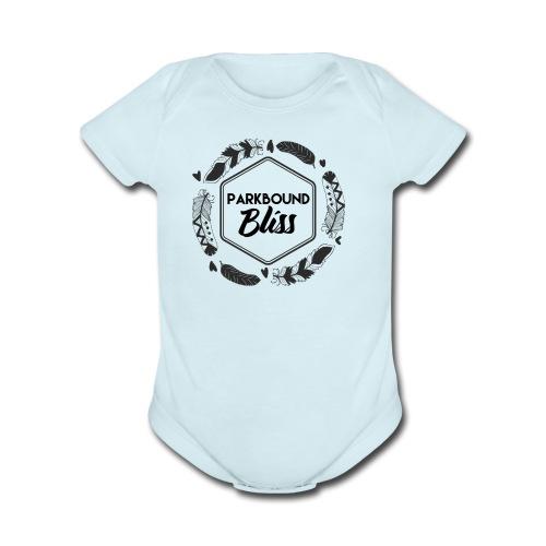 Parkbound Logo - Organic Short Sleeve Baby Bodysuit