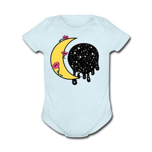 Lucia - Organic Short Sleeve Baby Bodysuit