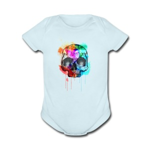 Death Art - Short Sleeve Baby Bodysuit